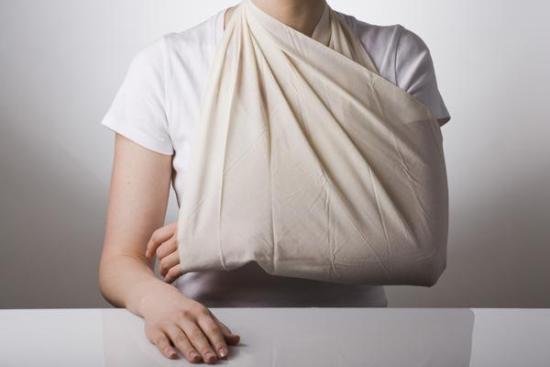 повязка при переломе большого бугорка плечевой кости