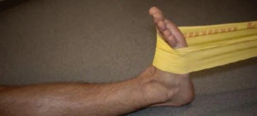 упражнения на ногу после перелома лодыжки
