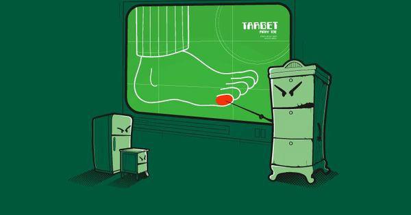 перелом мизинца вследствие удара о мебель