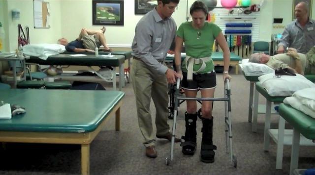 перелом пятки реабилитация