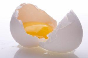 яйцо от ожогов