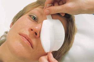наложение повязки при травме глаза