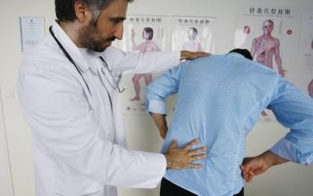 пальпация спины