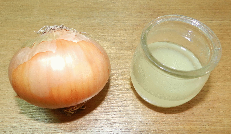 луковый сок на место ушиба