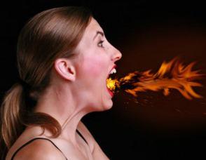 ожог верхних дыхательных путей